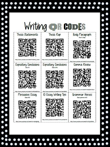 Writing QR Codes