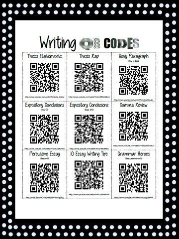 Writing QR Codes